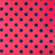 Rojo Puntos Negros