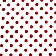 Blanco Puntos Rojos